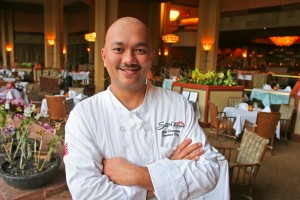 Chef Geno Sarmiento of Sarento's on the Beach, Kihei, Maui, Nick's Fishmarket at The Fairmont Kea Lani on Maui, Son'z Steakhouse The Hyatt Regency Resort Maui, Manoli's Pizza Company, Wailea
