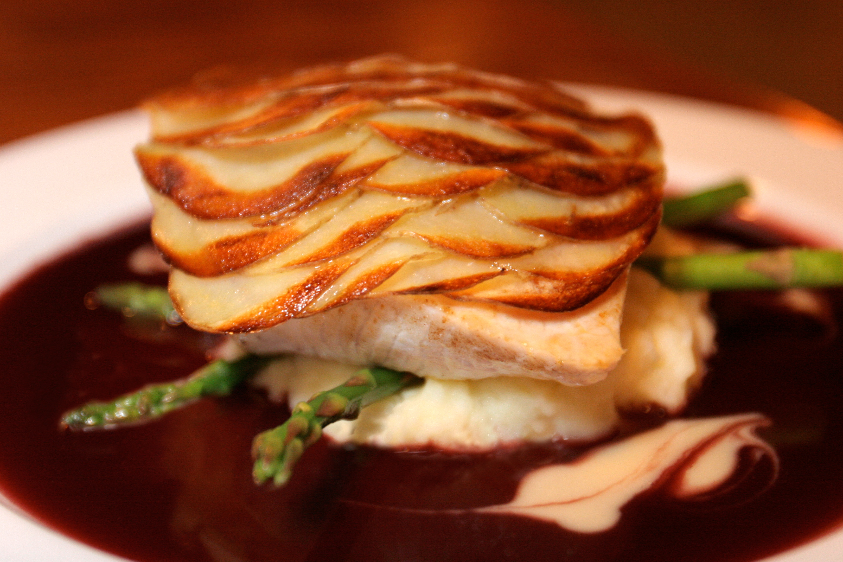 "Chef Geno's Potato ""Scaled"" Mahi mahi - MENU Magazine"