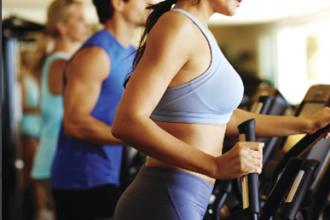 Fitness Center w Models