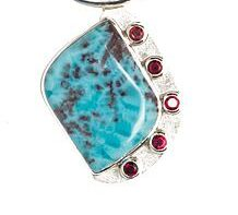 Joie Cabernet Larimar and Garnet by Yasha Jewels