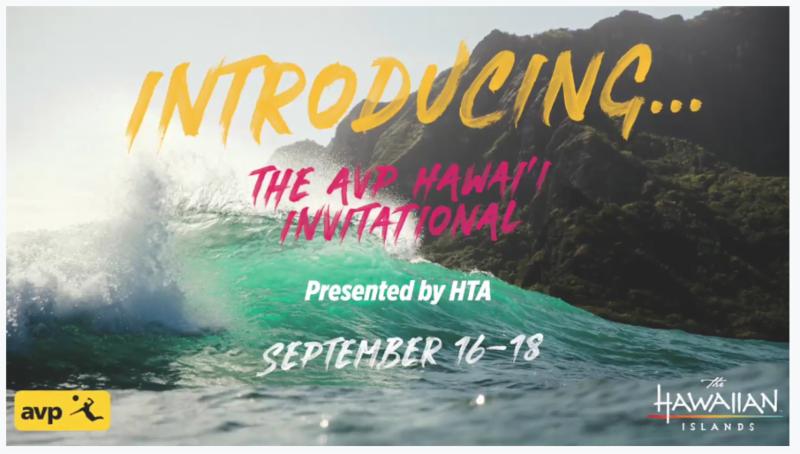 AVP Hawaii Invitational presented by Hawaii Tourism Authority - MENU